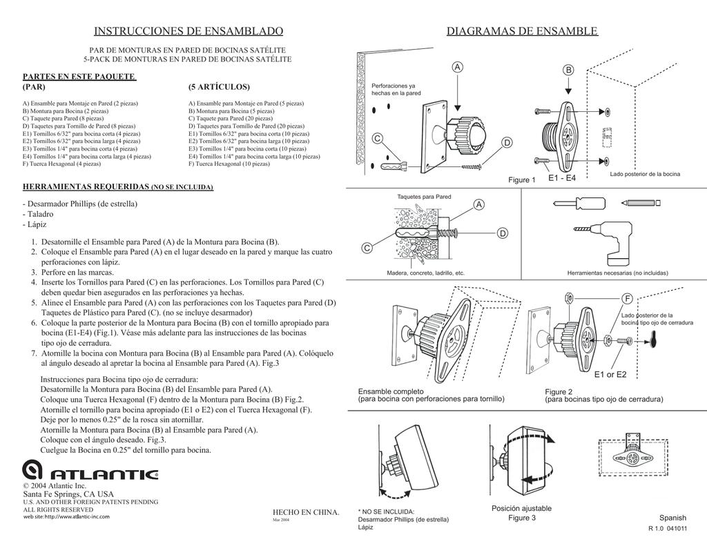 diagramas de ensamble instrucciones de c0a6d1d95d02c