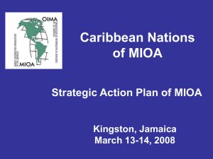Caribbean Nations of MIOA