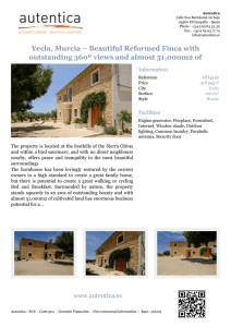 Yecla, Murcia – Beautiful Reformed Finca with