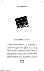Terence Fisher, autor