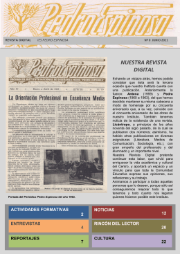 NUESTRA REVISTA DIGITAL