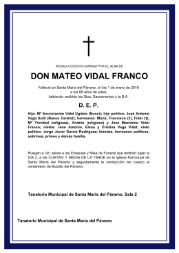 DON MATEO VIDAL FRANCO