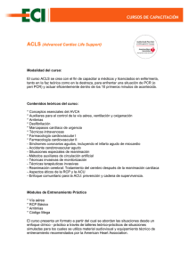 ACLS (Advanced Cardiac Life Support)