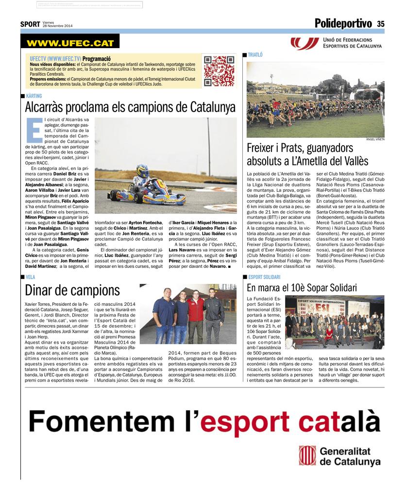 Dinar de campions - Federació Catalana de Vela 6f1c295ce32