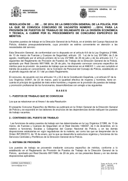 1 ANEXO I VACANTES DELINEANTE DIV. COOR
