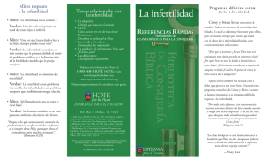 La infertilidad - Hope For The Heart