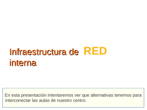 Infraestuctura de red interna Archivo