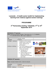 Leonardo – A health sector toolkit for implementing learning from