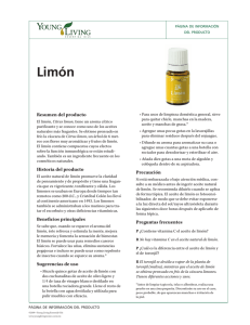 Limón - Young Living Essential Oils