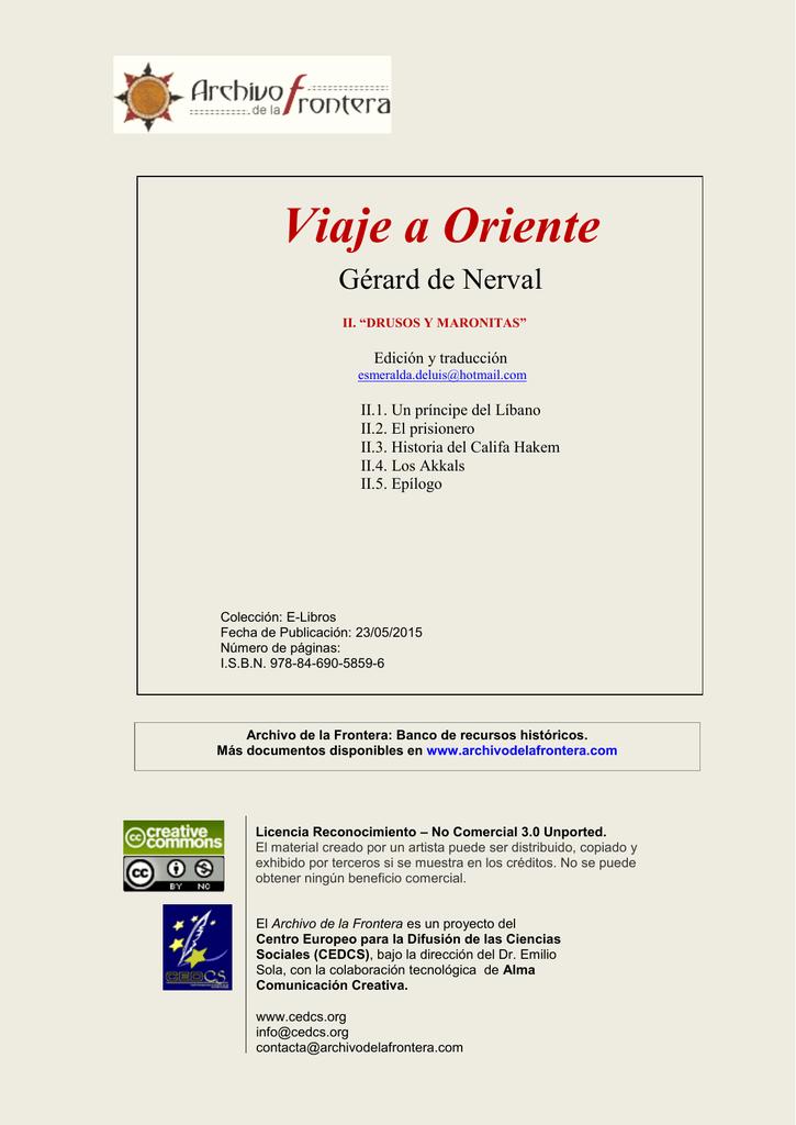 061 drusos y maronitas - Archivo de la Frontera