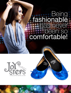 Being fashionable has never been so comfortable!