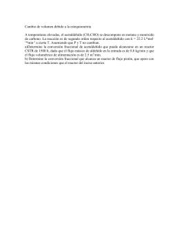 modelo cinetico para la sintesis de amoniaco en u