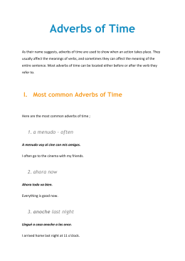 Adverbs of Time - cloudfront.net