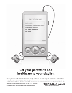 Get your parents to add healthcare to your playlist.