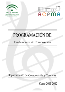 Fundamentos de Composición