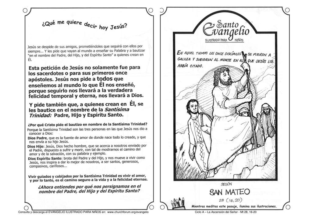 Resumen Del Evangelio De Hoy Para Niños Noticias Niños