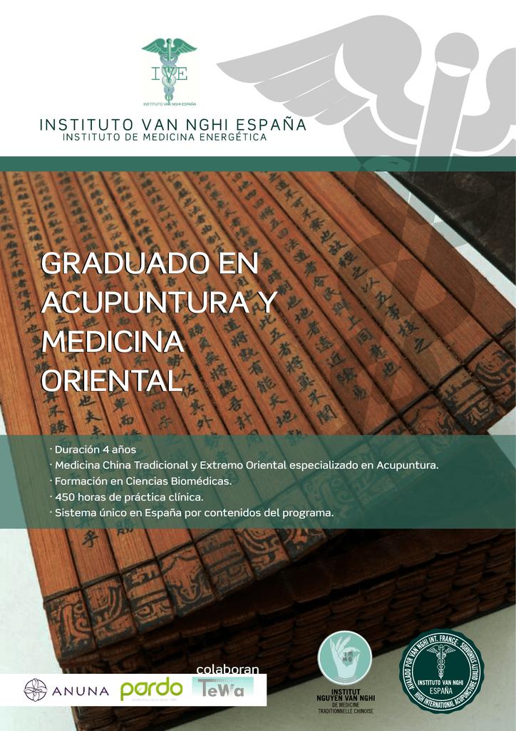 Programa de estudios Graduado en Acupuntura y Medicina Oriental