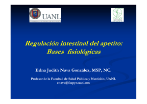 04 regulación intestinal del apetito: bases fisiológicas