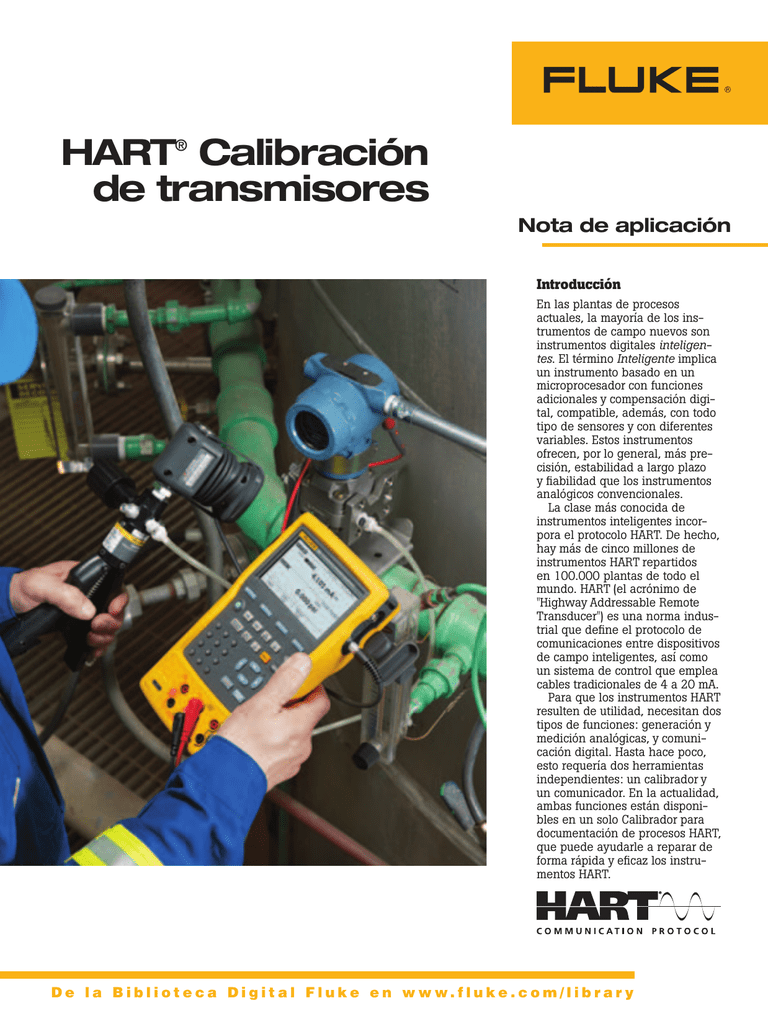 Hart Transmitter Calibration