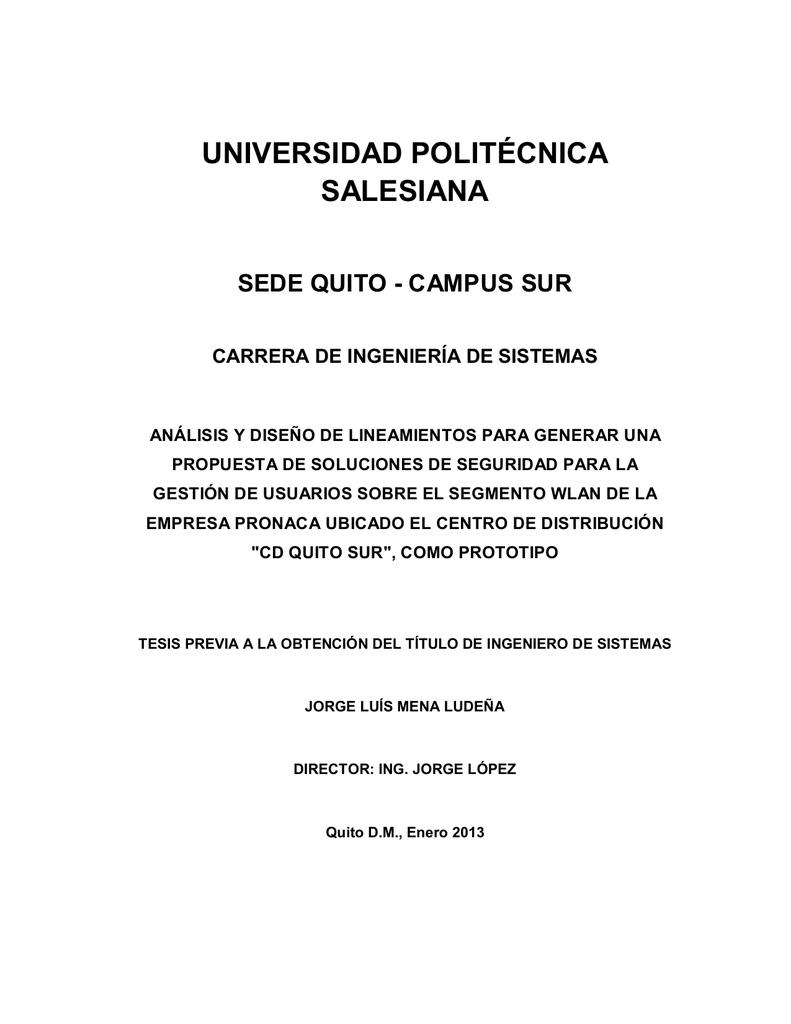 Ing Jorge Luis Mena Ludeña Repositorio Digital Ups