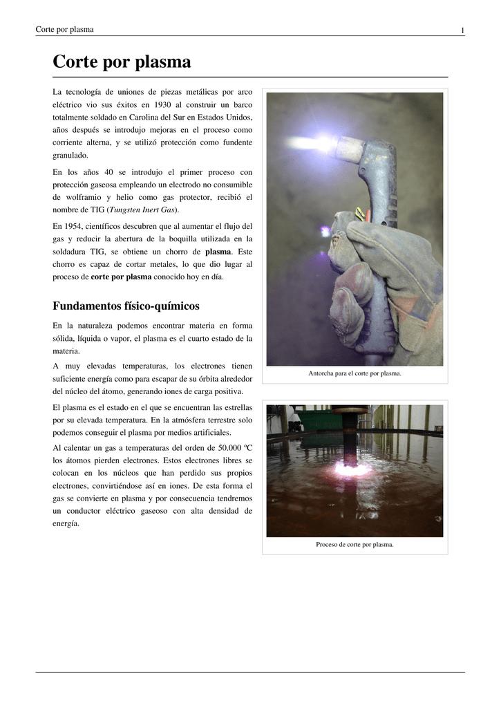 Corte por plasma - BAW Buenos Aires Welding SRL