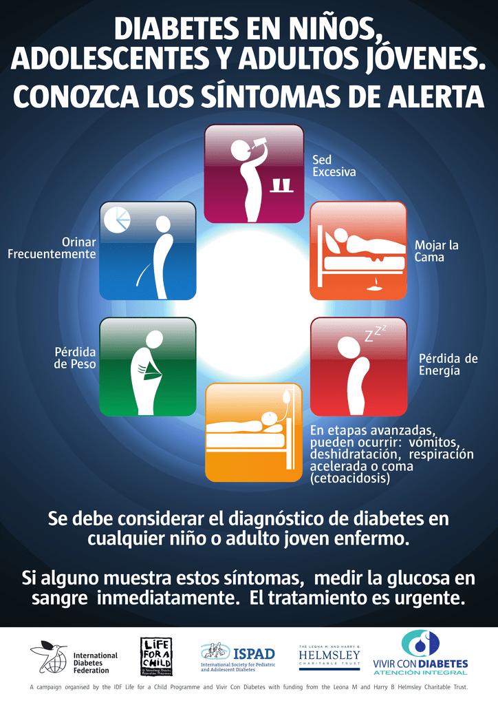 deshidratada sintomas de diabetes