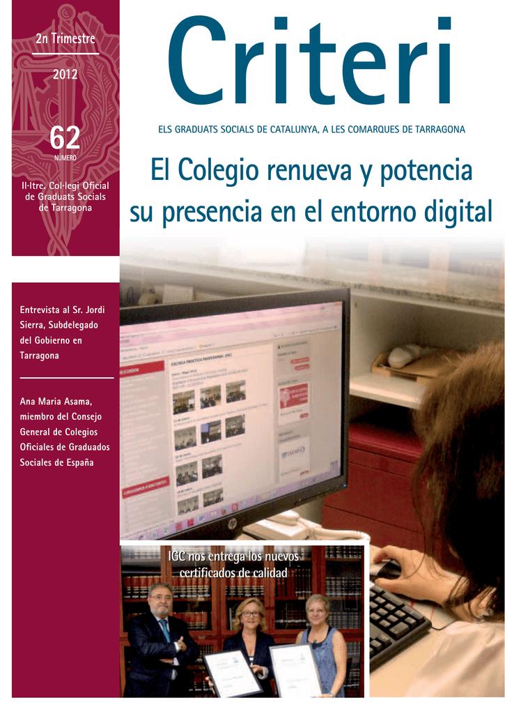 Criteri Col Legi Graduats Socials Tarragona