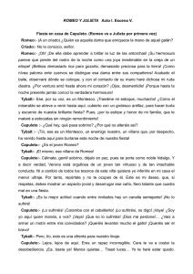 Control De Lectura Mensual Romeo Y Julieta