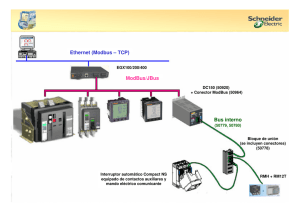 Ethernet (Modbus – TCP) ModBus/JBus Bus interno