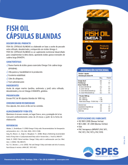 FISH OIL capsulas blandas