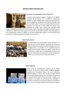 Newsletter UMOFC Septiembre 2015