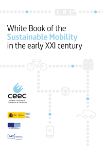 White Book of the Sustainable Mobility in the early XXI century