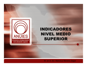 indicadores nivel medio superior