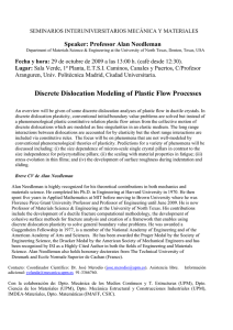 Discrete Dislocation Modeling of Plastic Flow Processes
