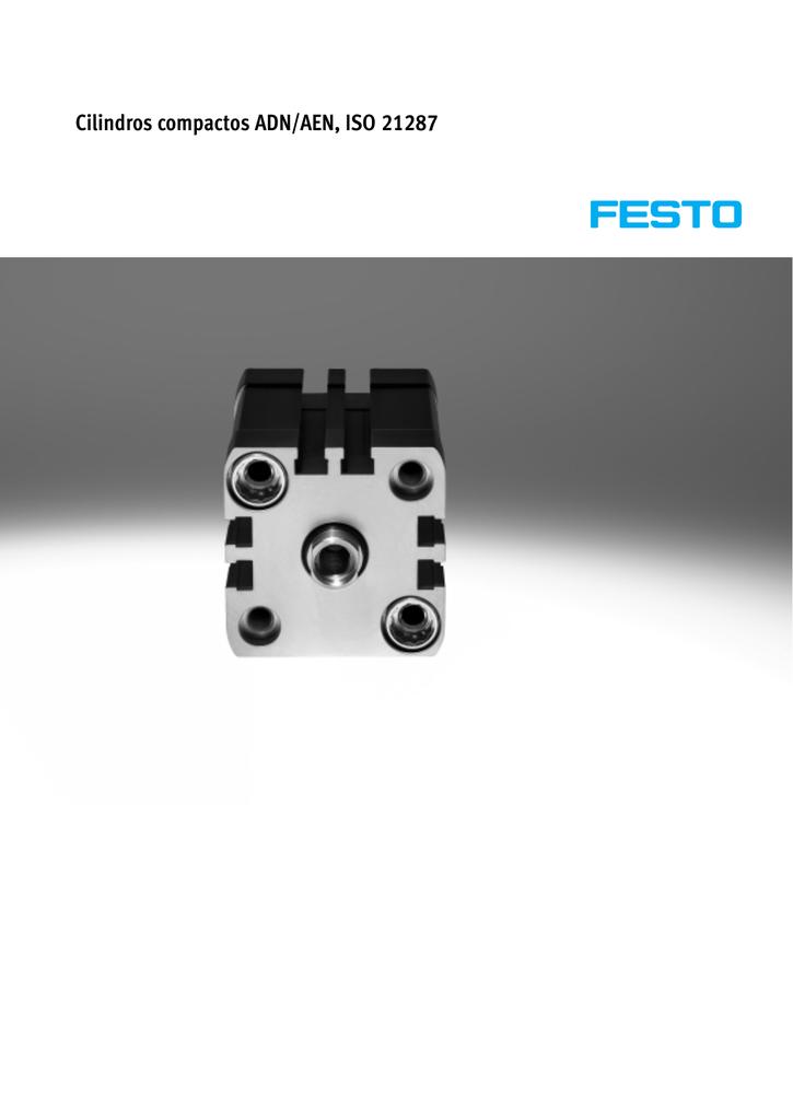 Equipamiento y maquinaria de bombas hidráulicas y neumáticas Festo 536227 compacto cilindro adn-16-10-i-p-a Otros