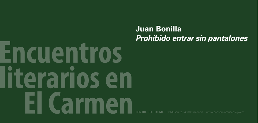 Bonilla Prohibido Sin Juan Pantalones Entrar wOknP08