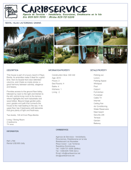 RENTAL - VILLAS - LAS TERRENAS - SAMANÁ