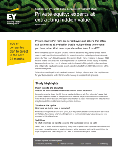 Private equity: experts at extracting hidden value