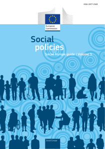 Social policies – Social Europe guide volume 5