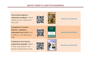 EBOOKS: DEGREE IN COMPUTER ENGINEERING