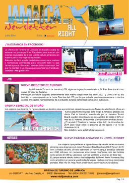 JAMAICA_newsletter_JUL2014