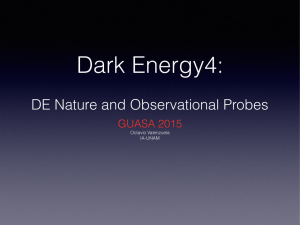 DE Nature and Observational Probes