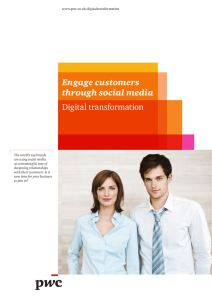 Digital Transformation - Engage customers through social