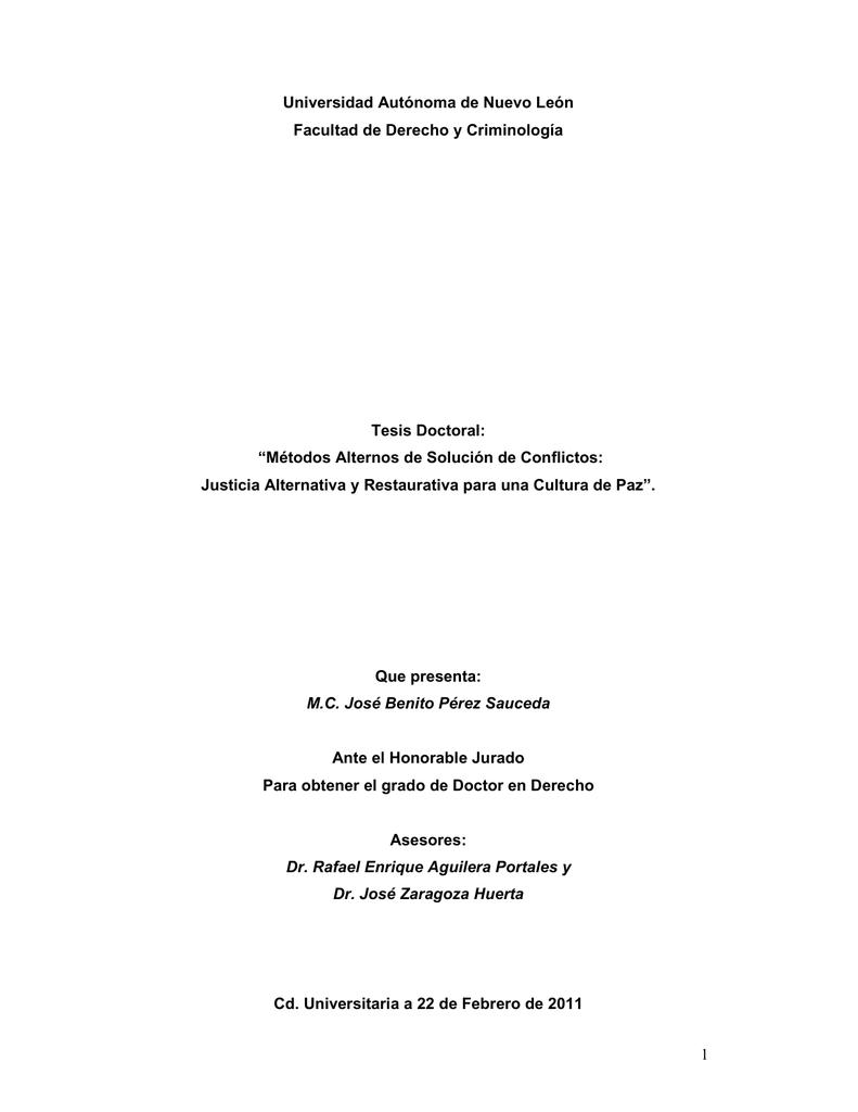 Tesis Definitiva R1 - Centro de Estudios de Justicia de las Américas