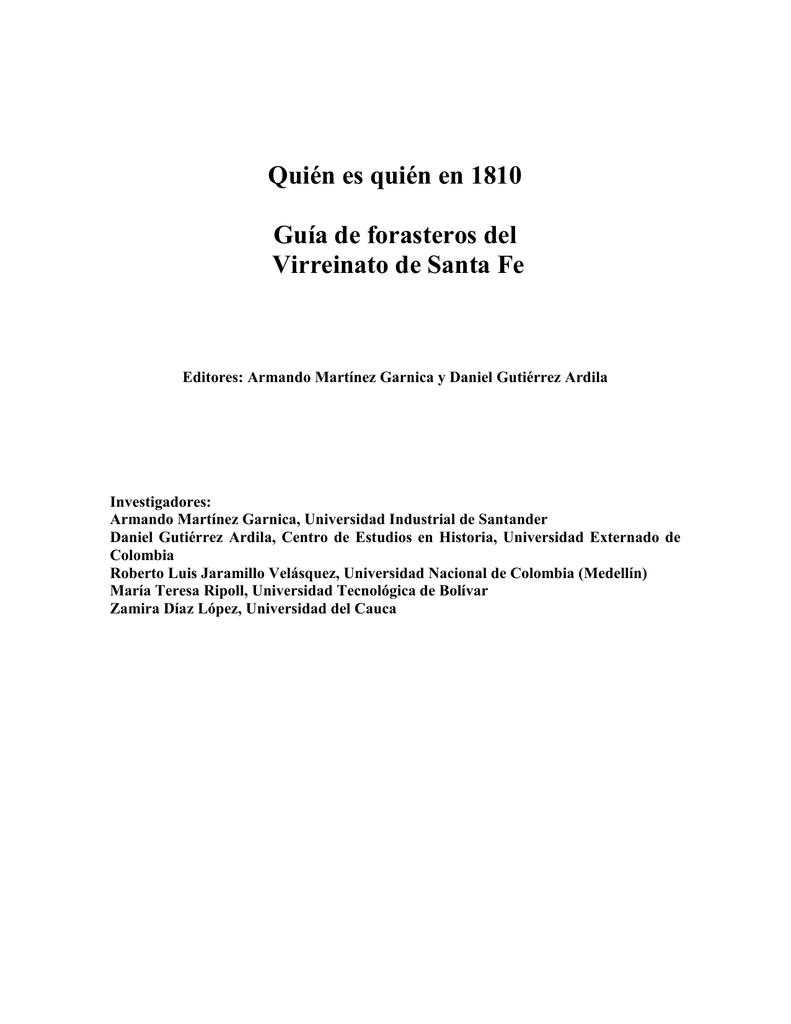 guía de forasteros - Actividad Cultural del Banco de la República