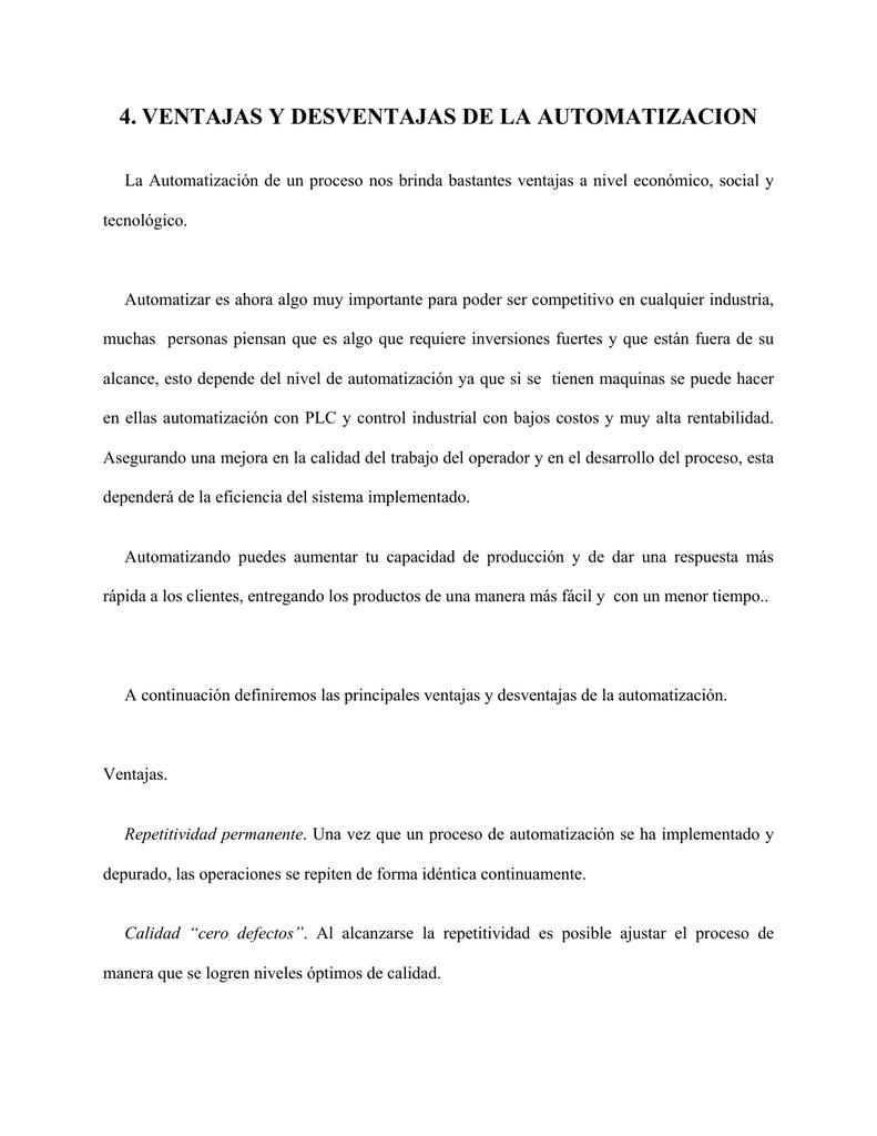 Ventajas y desventajas de la electricidad pdf