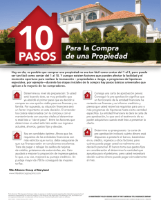 10 Steps to Buying a Home - Spanish.indd