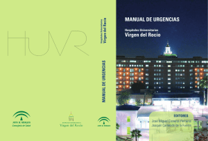 MANUAL DE URGENCIAS Virgen del Rocío