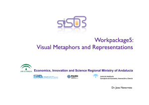 Workpackage5: Visual Metaphors and Representations