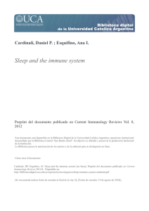Sleep and the immune system - Biblioteca Digital